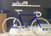 Single-speed-blauw